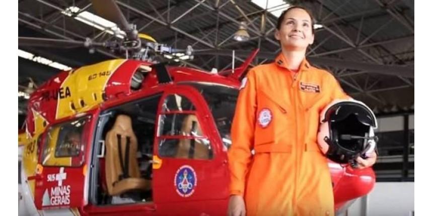 Quem é a pilota dos Bombeiros que fez resgate incrível em Brumadinho