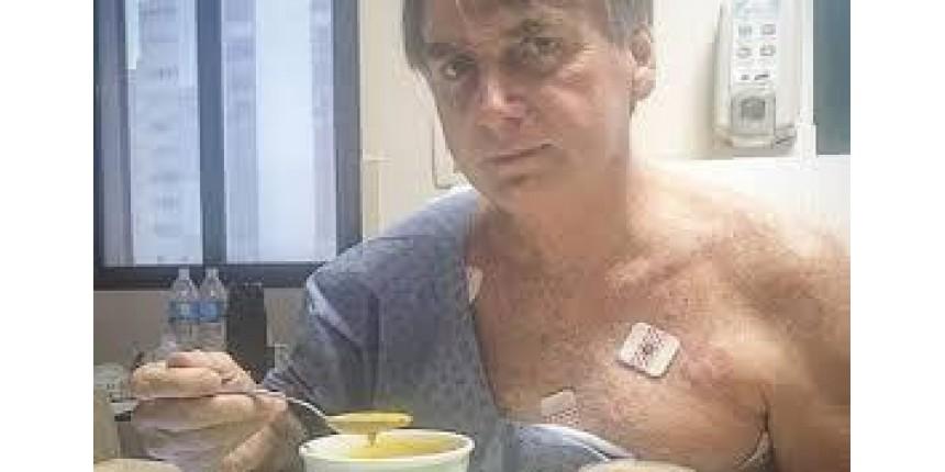 """Bolsonaro cobra polícia para descobrir o """"real mandante da facada"""""""