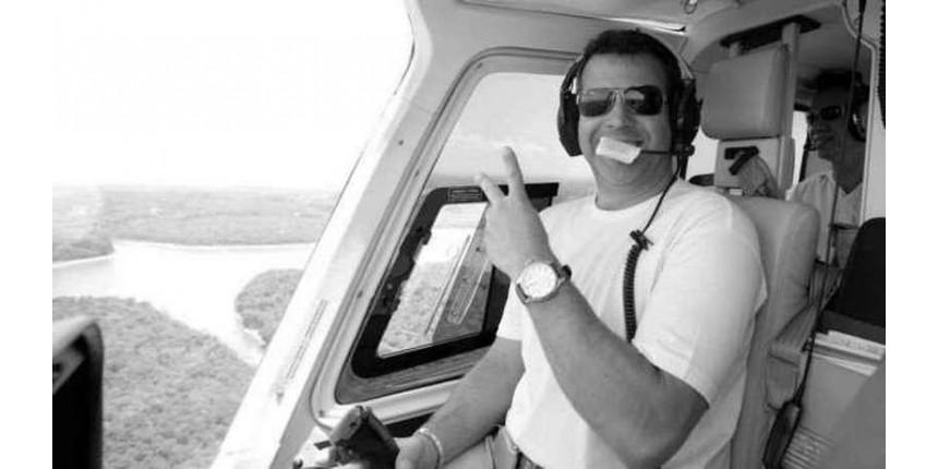 Corpo de piloto de helicóptero que morreu em acidente com Boechat é enterrado em SP