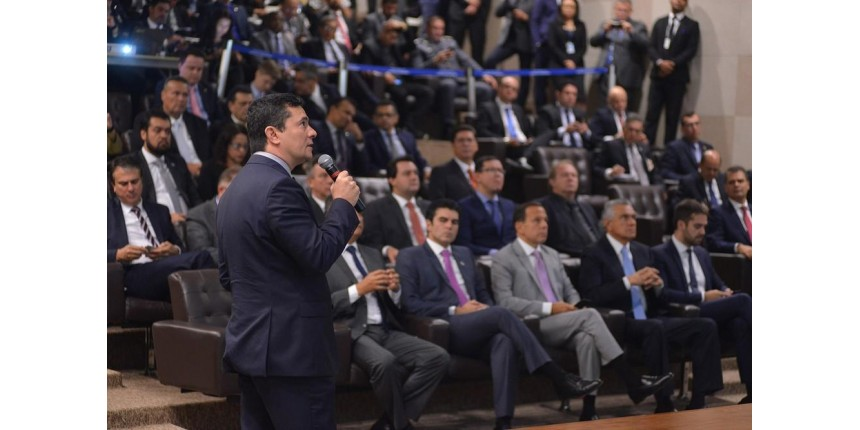 Moro apresenta a governadores projeto anticrime com 14 alterações em leis