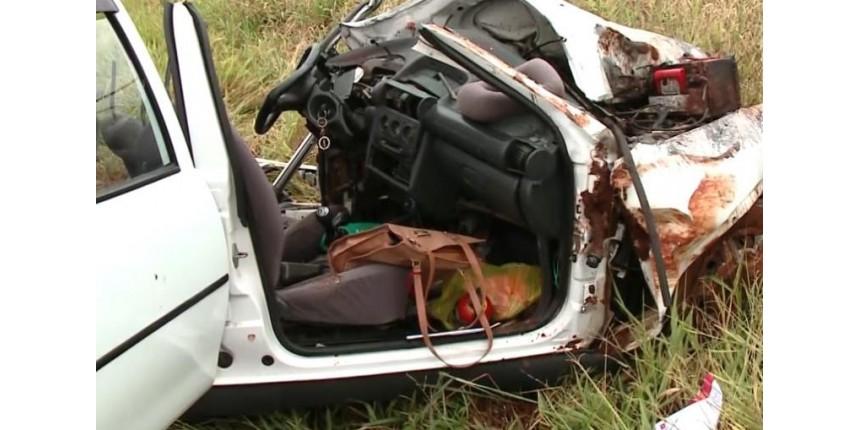 Mulher morre em colisão frontal em rodovia