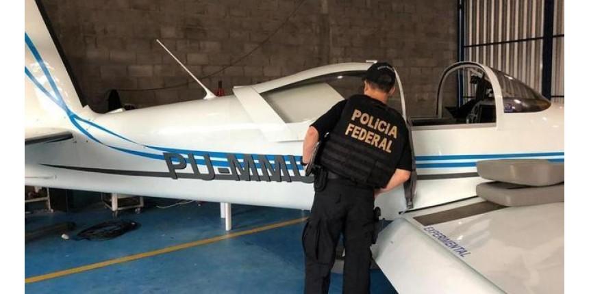 Operação da PF busca 47 aeronaves usadas para levar drogas do crime