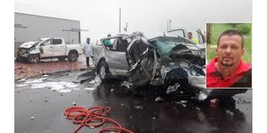 Policial militar aposentado morre em grave acidente em rodovia