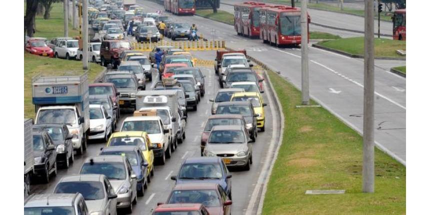 A cidade com o pior trânsito da América Latina