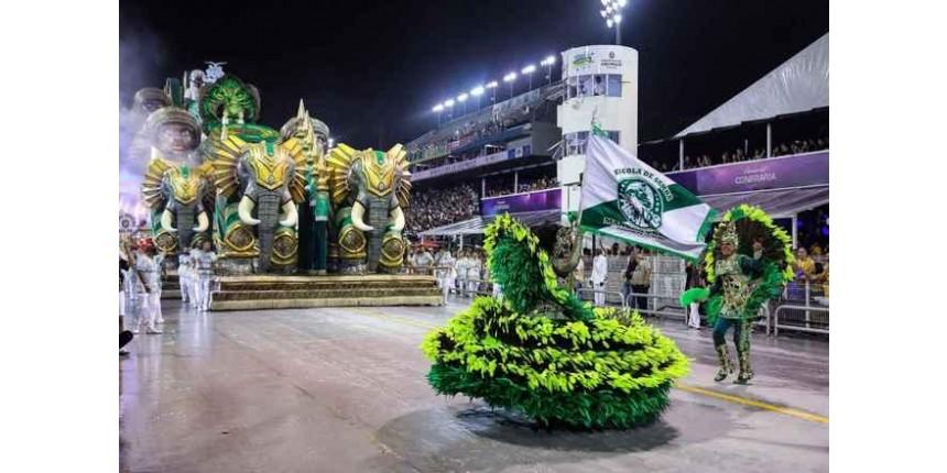Mancha Verde é campeã do Carnaval de SP