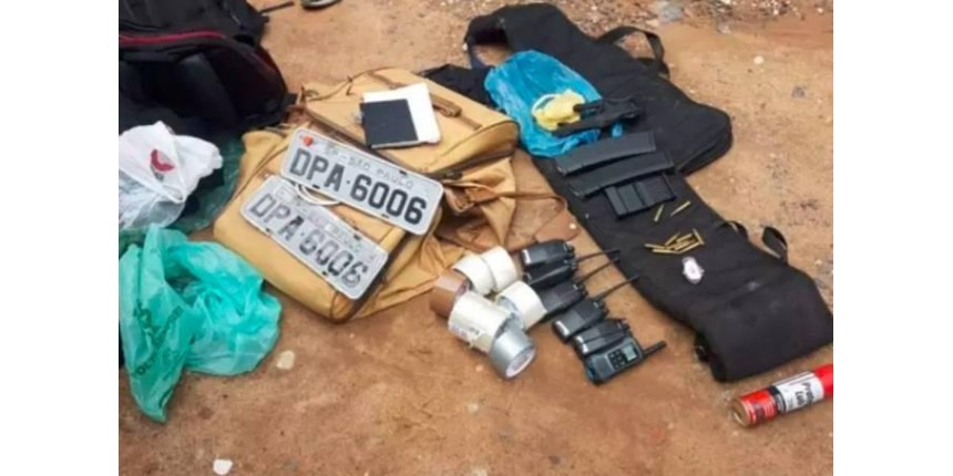 Polícia apreende 50 dinamites e frustra novo ataque a bancos no interior