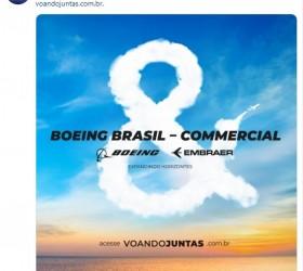 Boeing Brasil-Commercial é o nome de nova empresa de aviação...