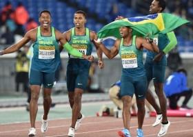 Brasil é campeão mundial do revezamento 4x100 no Japão