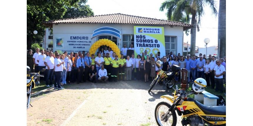EMDURB realiza abertura do Maio Amarelo em Marília e divulga programação do mês