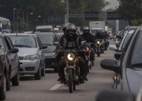 Mortes de motociclistas no trânsito superam de pedestres pela 1ª vez