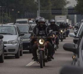 Mortes de motociclistas no trânsito superam de pedestres pela 1ª...
