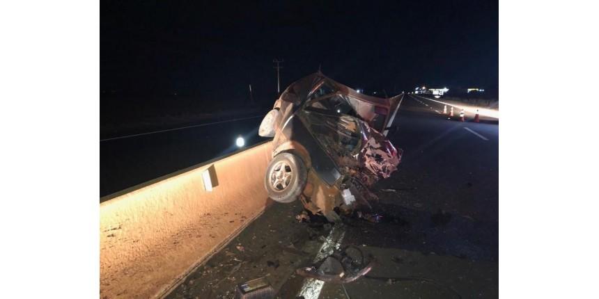 Acidente entre carros deixa quatro mortos em rodovia