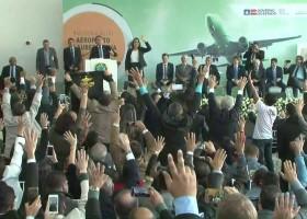 'Eu amo o Nordeste', diz Bolsonaro em visita à Bahia