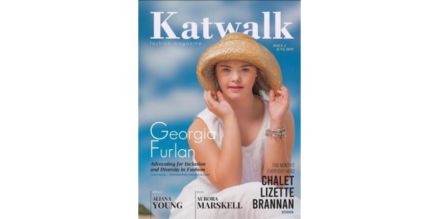 Modelo brasileira com síndrome de Down é capa de revista australiana
