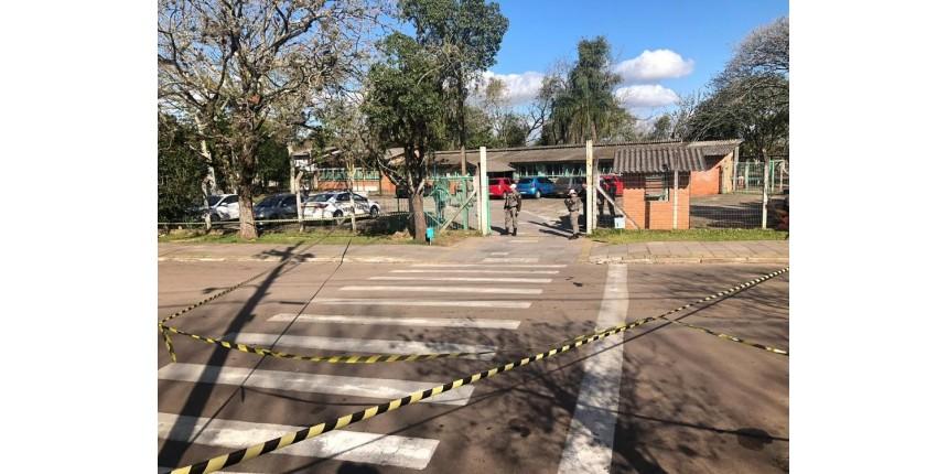Ataque com machadinha deixa alunos e professora feridos em escola