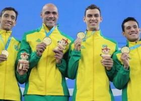Brasil conquista dez ouros no dia e está perto de atingir meta...