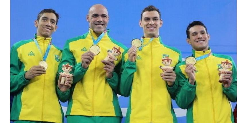 Brasil conquista dez ouros no dia e está perto de atingir meta no Pan
