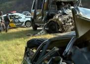 Carro na contramão teria causado acidente com a Banda Sampa...