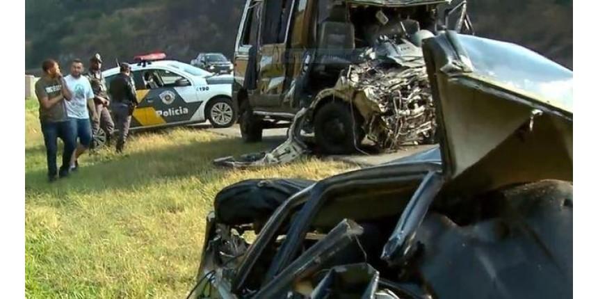 Carro na contramão teria causado acidente com a Banda Sampa Crew