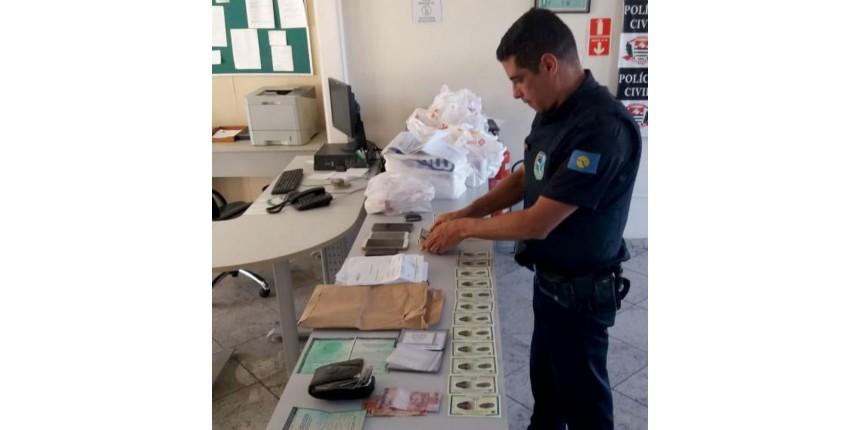 Casal é preso por usar documentos falsos para retirar remédios de graça