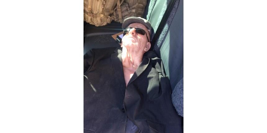Ex-funcionário usa máscara de idoso e é preso em tentativa de assalto a banco