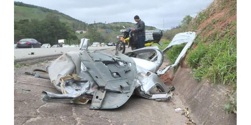 Acidente deixou três mortos na Rodovia Castello Branco