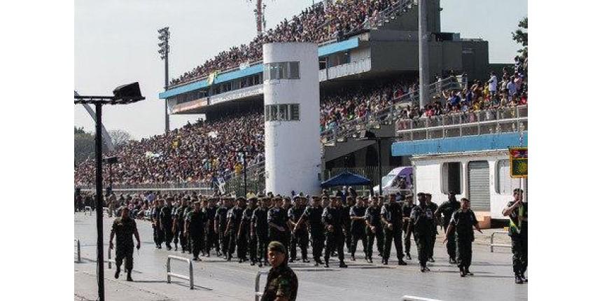 Desfile de 7 de Setembro em São Paulo será no Anhembi
