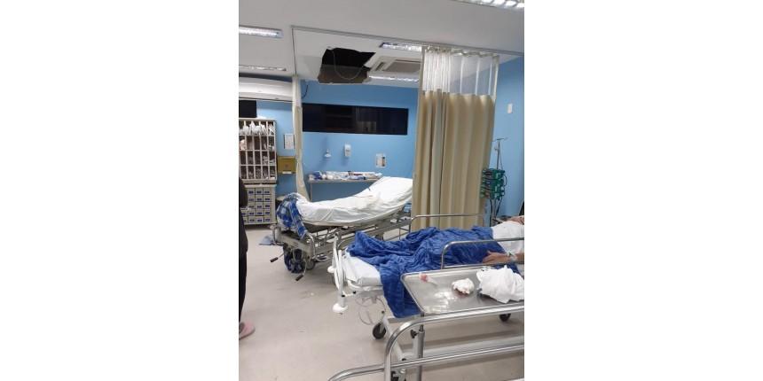 Lutador preso em SC usa sangue para se soltar de algema, quebra teto de hospital e pula janela