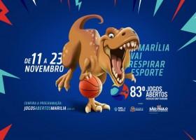 MARÍLIA: Jogos Abertos do Interior terão participação de 210 municípios do Estado