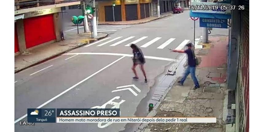 Irmã de moradora de rua assassinada diz que vítima pediu R$ 1 para comprar pão