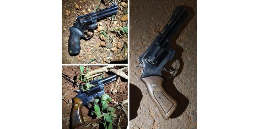 Trio é morto em troca de tiros com a Polícia Militar