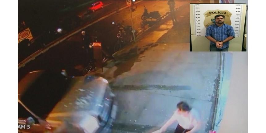 Comerciante que foi prensada contra parede de propósito comemora prisão de motorista: 'Meu presente de Natal'