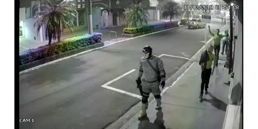 Criminosos levaram joias estimadas em R$ 1 milhão durante assalto a banco no interior