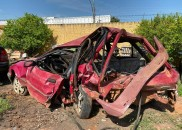 Jovem e criança morrem em acidente com carro que transportava...