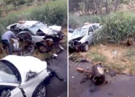 Uma motociclista morre após acidente em rodovia