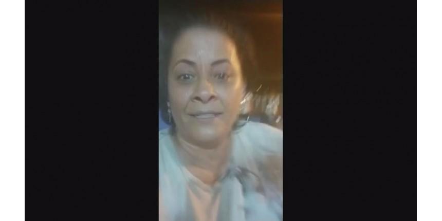 Mulher mata companheiro atropelado e confessa crime em vídeo