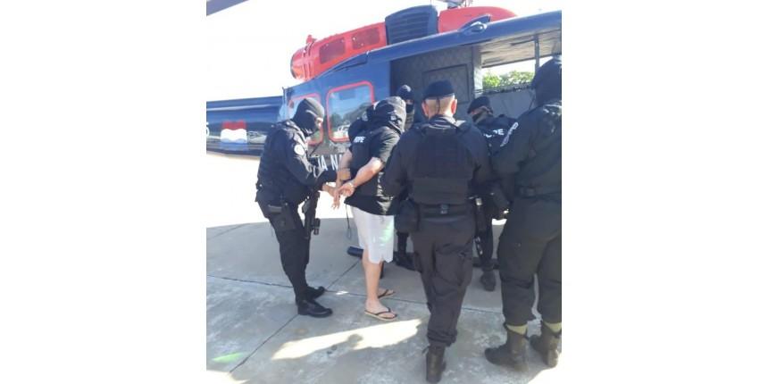 Suspeito de chefiar organização criminosa é expulso do Paraguai e entregue à PF