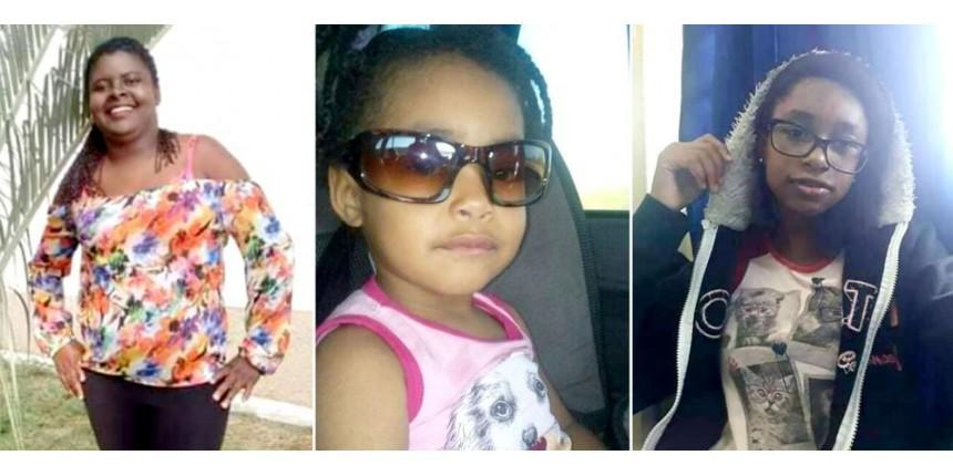 Tia e sobrinhas morrem em acidente com carro ocupado por sete pessoas