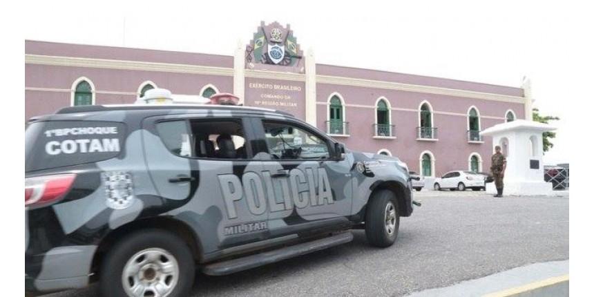 Após autorização de Bolsonaro, 2.500 soldados patrulham Fortaleza