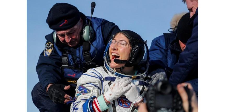 Astronauta americana bate recorde no espaço