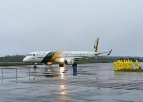 Aviões com repatriados da China pousam na Base Aérea de Anápolis