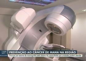 Com 200 novos casos por ano, câncer de mama mata 17 mulheres...