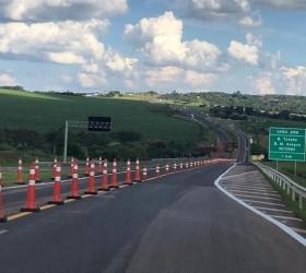 Trecho da rodovia Marechal Rondon é liberado após interdição por...