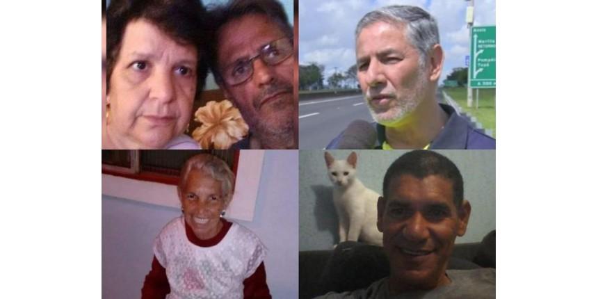 Veja quem são as cinco vítimas que morreram durante temporal na região