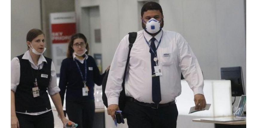 Companhias aéreas liberam viagens de graça para profissionais da saúde