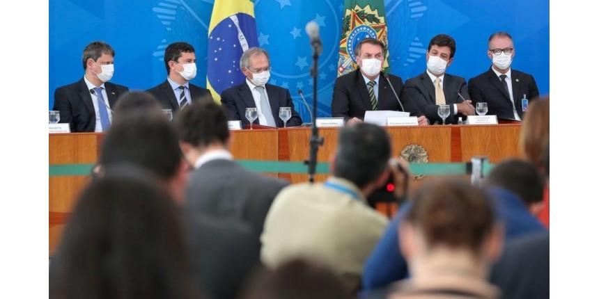 Governo anuncia mais medidas para reduzir impacto do Covid-19