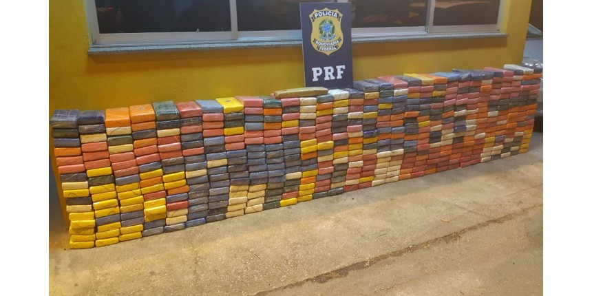 Em 24 horas, PRF apreende uma tonelada de cocaína em MT