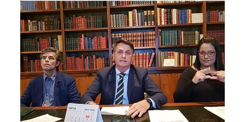 Presidente defende retomada gradual das atividades no Brasil
