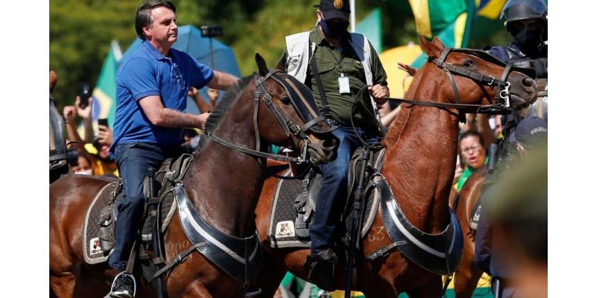 Bolsonaro vai a ato de apoiadores em Brasília
