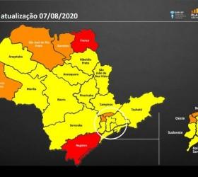 Após mudanças no Plano SP, nove regiões passam para a...
